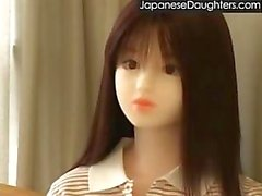Filha jovem japonês fodido por padrasto