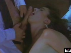 Christy Canyon gets eaten and slammed