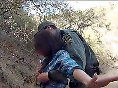 Mexicansk BP officer knullad otäckt amatören
