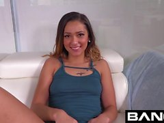 Latina Teen Jaye Summers Gets Facialized After Public Nudity