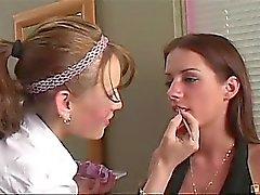 Esta imagem Pintainho de maquiagem atraente estava dentro para muito uma surpresa quando ela