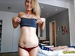 Skinny Blonde Pov Blowjob and Doggystyle