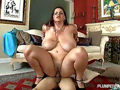 Samantha 38G and Angelina Castro Double Team Stud
