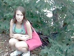 Jolie jeune fille brune tcheque vente