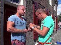 De vrais promenades prozzie hollandaises