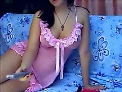 Magnifique nana webcam privée spectacle