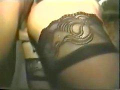 Vintage Dawn Phoenix Big Tits Saggy 2 gallos Medias
