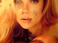 Scarlett Johansson Cum Tribute de Bukkake
