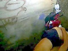 von mexikanischen Polizei festgenommen