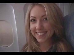 Sarah Peachez - lentokoneella suihin