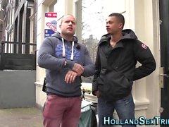Néerlandais hooker suce bbc