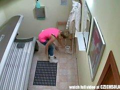 Biondi Cutie pubblica Spia Webcam