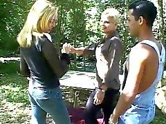 Bisxeaul MMF trio in het bos