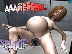 3D Комический : Spermaliens один