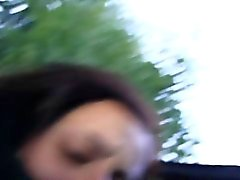 Amatrice francaise frappa sur terrasse pov