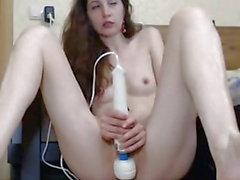 Vi körde flickan till orgasm!