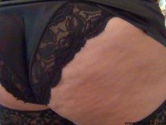 Anal Bubble Butt Mexican Granny POV