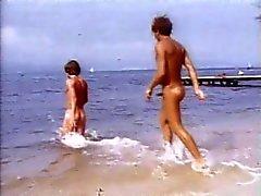 Varma Homosexuella på strand