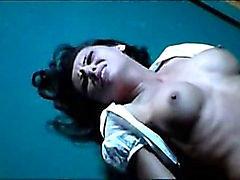 Prominenten FKK Sexszene Candice Lewalds - gewalttätige Szene Gutterballs