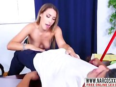 Office Step Mother Kimber Lee Very Hungry