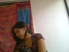 Supersöötissä ja horny desi intialainen tyttöystäväni