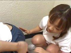 Atemberaubende Teen gestreift in Baby Teig