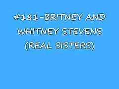 Britney & whitney stevens (irmãs) cumshot compilação (senhor de cumshots)