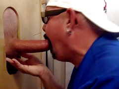 Engulfing motociclista Ramrod At The Gloryhole