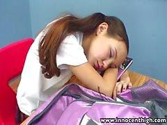 InnocentHigh Teacher banging luiseva Aasialaiset teinit tiukat pussy