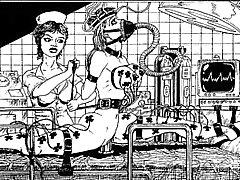 Dos escravos cativeiro arte bdsm desenhos animados