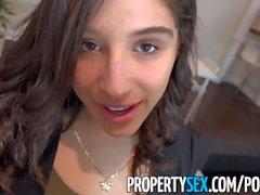 PropertySex - Studente di college scopa culo grosso agente immobiliare