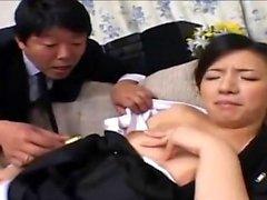 Japon milf hardcore üçlü seks sahiptir