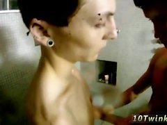 Free sex gay porn Bathroom Bareback Boyfriends