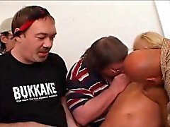 Anaali- Haista Slut Wife Blonde Three Pultinreikien Huorat