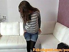 FakeAgent Beautiful ебет по брюнет милашка на литья собеседования