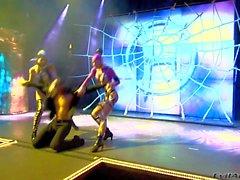 Chris Erik and Nacho make a kinky runway show