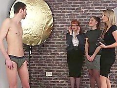 Cfnm mature mistress mock