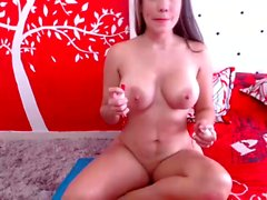 Natural big boobs and fat ass Lena Paul doggystyle fucks