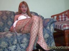 Thai Ladyboy Invites You Up Her Bottom