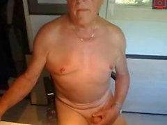 vovô masturbando