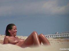 Бритая Горячая киска пляж Milfs Voyeur Cam Spy Hidden HD видео