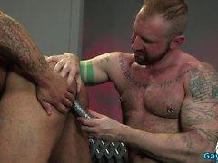 Kas ayı yapay penis ve anal cumshot