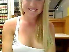 Webcam nel serie 01 teenager della masturbate la nel della libreria ? ( Camaster )