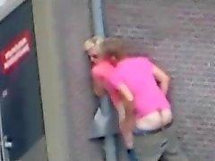 Persone che hanno sesso in strada ( I Paesi Bassi ) .