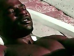 Black Ghetto Gay Lover do Anal Sex Outdoor