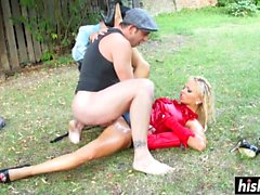 Jenna and her friend get pounded together