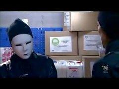Шантажа полицейский помощью Грабитель банка