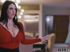 PURE TABOO Virtual Assistant Angela White Coerces Couple Into Fucking