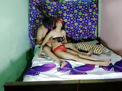 Indian bhabhi getting fucked in front of her husband