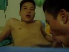 Vietnamese Couple fucking on the webcam